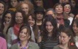 Kadın Tiyatroculardan Protesto 100 Kadın 100 Replik