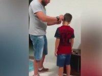 Taktığı İşitme Cihazı İle Babasının Sesini Yeniden Duyan Çocuğun Tepkisi