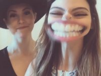 Amanda Cerny'nin Larissa Yenge ile Çektiği Kezo Videosu