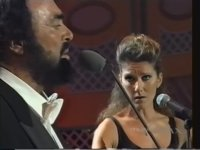 Luciano Pavarotti & Celine Dion - I Hate You Then I Love You (1997)