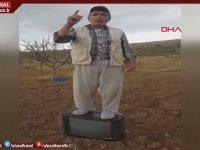 Tarlada Televizyonun Üzerine Çıkıp Hükümete Seslenen Çiftçi