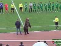 Rusya'da Futbol Maçını Ayının Başlatması