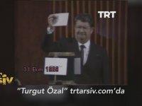 Turgut Özal'ın Cumhurbaşkanı Seçildiği An (31 Ekim 1989)