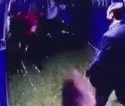 Beşiktaş Teknik Ekip Elemanına Saldırı Anı