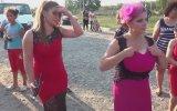 Hatunların Roman Düğününde İçki İçip Göbek Atması
