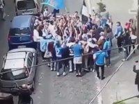 Juventus Ve Napoli Taraftarlarının Torino Sokaklarında Kapışması