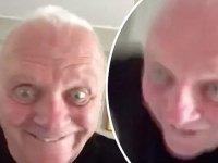 Anthony Hopkins'in Sıyırmış Haldeki Selfie Dans Videosu