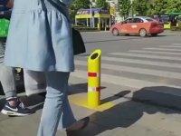 Trafik Kurallarına Uymayana Su Püskürten Sistem - Çin