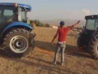 Traktörlerle Güç Denemesi - Ağrı