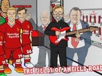 Liverpool Oyuncuları ve Jürgen Klopp'a Renkli Klip Yapılması