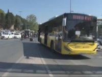 Hareket Halindeki Otobüse Binmeye Çalışırken Yaralanan Taraftar