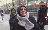 Sokak Röportajında Eski Kocasına Ayar Veren Bekar Teyze