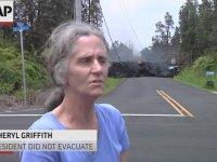 Harekete Geçen Kilauea Yanardağı'ndan Kaçmayan İnsanlar