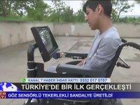 Göz Hareketleriyle Kontrol Edilebilen Tekerlekli Sandalye - Ankara