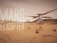 NASA'nın Mars'a Helikopter Göndermesi