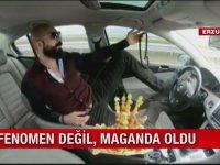 Ayağıyla Araba Kullanan Adam - Erzurum