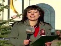 Canlı Yayındaki Şaşkın Rus Spiker Maria Ryabova