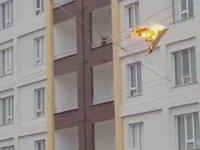 Elektrik Tellerine Düşen Halının Yanması
