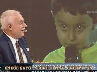 Nihat Hatipoğlu'na Atarlanan Çocuk