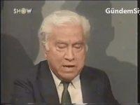 SP Başkanı Temel Karamollaoğlu ve Aziz Nesin Canlı Yayın Tartışması