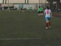 Sümeyra Kıvanç'ın Frikikten Roberto Carlos Vari Gol Atması