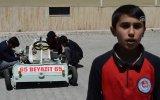 Atık Malzemelerden Go Kart Aracı Yapan Ortaokul Öğrencisi