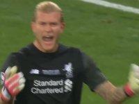 Real Madrid - Liverpool Maçında Karius'un Hatası Olan Gol