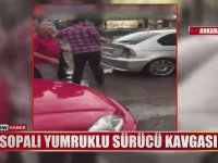 Sopalı Tekmeli Sürücü Kavgası - Ankara