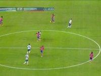 Messi'nin Haiti Defansını İpe Dizmesi