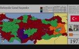 Türkiye'de Genel Seçimlerin Harita Üstünden Görünümü 19462015