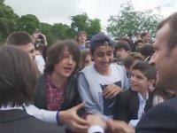 Emmanuel Macron'u Manu Diye Çağıran Fransız Genç