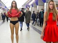 Etekaltı Yasasını Protesto Eden Rus Kızı Anna Dovgalyuk
