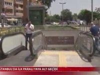 Dünyanın İlk Ücretli Yaya Geçidi - İstanbul