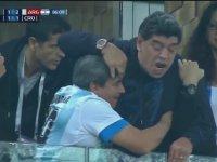 Kafayı Çekip Maça Gelen Maradona (Nijerya - Arjantin)