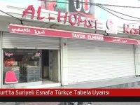 Esenyurt'ta Suriyelilerin Dükkanlarına Arapça Tabela Uyarısı