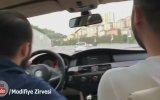 BMW ile Trafikte Terör Estiren Barzo