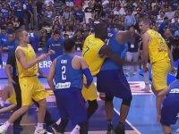 Filipinler - Avustralya Maçında Çıkan Kavga