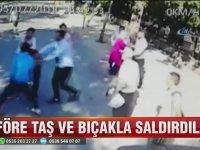 Halk Otobüsüne Saldıranlara Yolcuların Dayak Atması