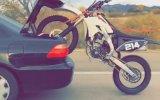 Otomobil İle Motosiklet Taşıma Yöntemi