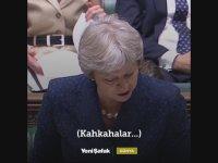 Theresa May'in Konuşmasını Kahkahalarla Kesmek