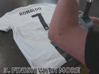 Ronaldo'nun Real Madrid Formasını Juventus'a Çevirmek!