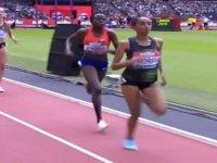 Yarışı Kazandığını Zannedip Duran Atletin Birincilikten Olması
