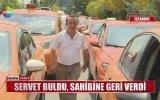 Takside Bulduğu Altınları Sahibine Geri Veren Taksici