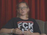THY Uçağında Protesto Düzenleyen Elin Ersson