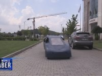 Düzce Üniversitesi Öğrencilerinin Ürettikleri Otomobil