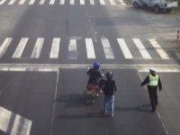 Kameralara Yakalanan Polis Kovalamaları