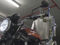 Motosiklet Sürücüsü Robot Testi