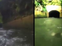 Tekneyle Kanaldan Geçtikten Sonra Su Altında Bir Şey Belirmesi