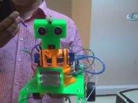 Ses Komutu ile Hareket Eden Robot Üreten Öğrenciler