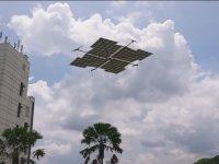 Sadece Güneş Enerjisiyle Hareket Eden Drone
